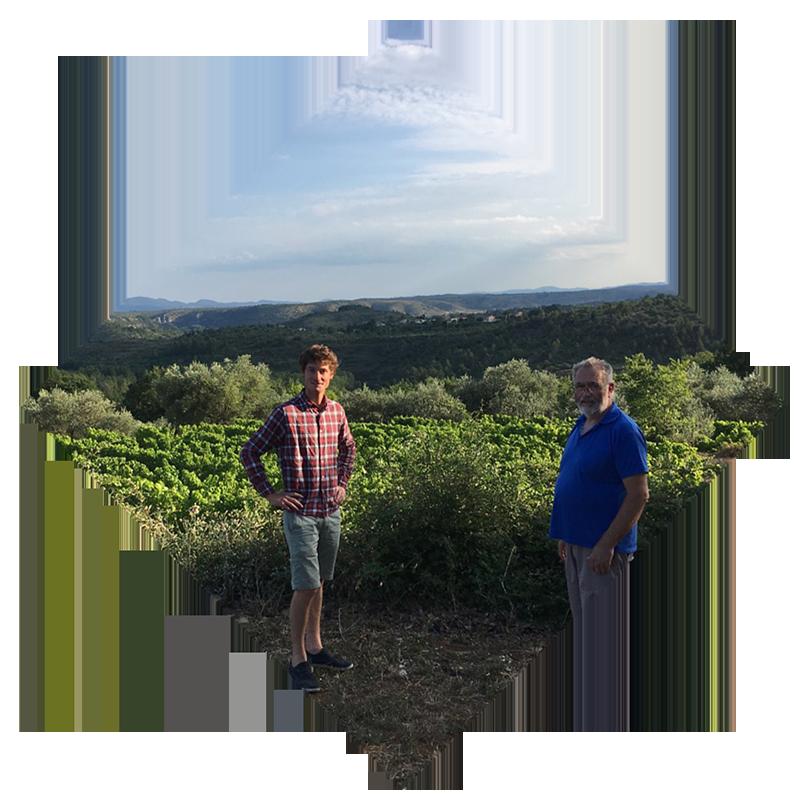 Mas de Bagnols - Louis de Moerloose vigneron indépendant à Vinezac